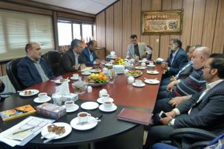 برگزاری جلسه با مدیر کل محترم گمرکات خراسان جنوبی در خصوص روند تسهیل صادرات