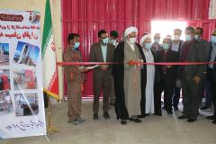 افتتاح کارگاه تولید قطعات کارخانه سیمان باقران